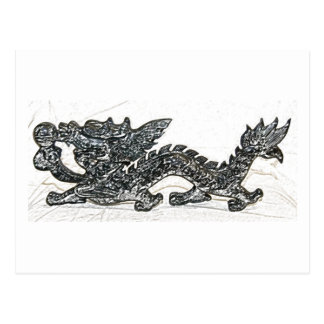 Feng Shui Dragon Postcard