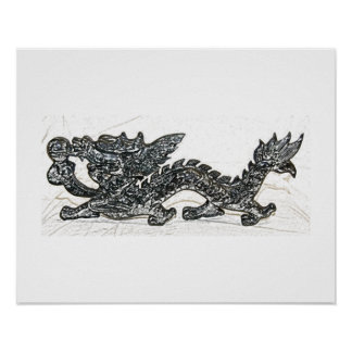 Feng Shui Dragon Posters