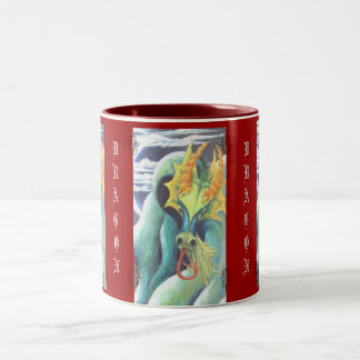 FENG SHUI & FUNG SHWAY DRAGON COFFEE CUP