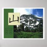 Feng Shui: Imágenes de Bagua: Paisaje de la montañ Posters