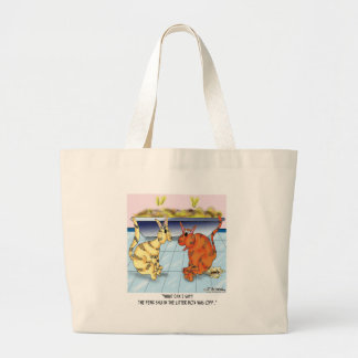 Feng Shui In The Litter Box Is Off Tote Bags