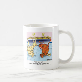 Feng Shui In The Litter Box Is Off Coffee Mug