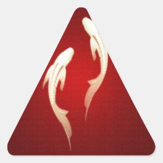 Feng Shui Triangle Sticker