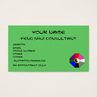 Feng Shui (version 1) - business card template