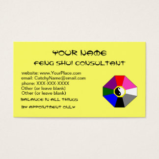 Feng Shui (version 2) - business card template