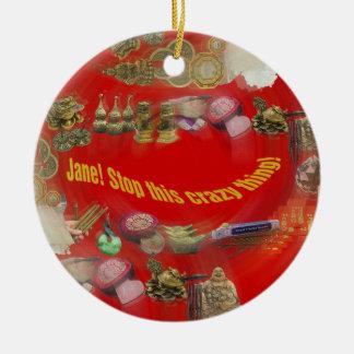 Feng Shui Vortex Christmas ornament