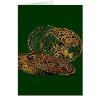 FENG SHUI WEALTH COINS GREETING CARD