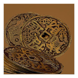 FENG SHUI WEALTH COINS POSTERS