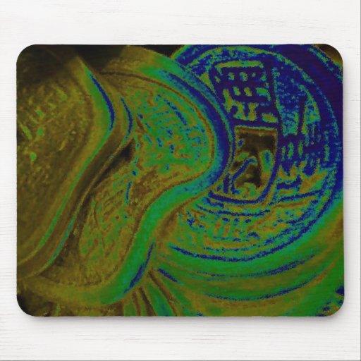 FENG SHUI WEALTH ELEMENTS MOUSE PAD