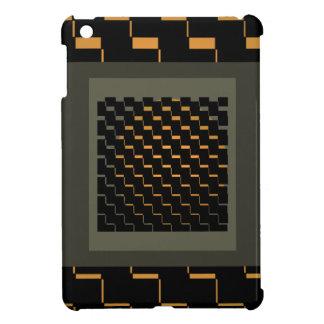 FengShui Fusion Gold Black Geometric Hipster 2a iPad Mini Case