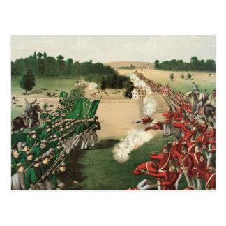 Fenian Raids Battle of Ridgeway Limestone Ridge Postcard