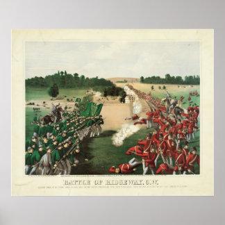 Fenian Raids Battle of Ridgeway Limestone Ridge Poster