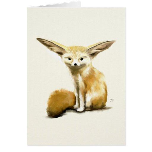 Fennec Fox Cards