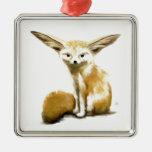 Fennec Fox Christmas Ornaments