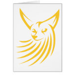 Fennec Fox in Swish Drawing Style Cards
