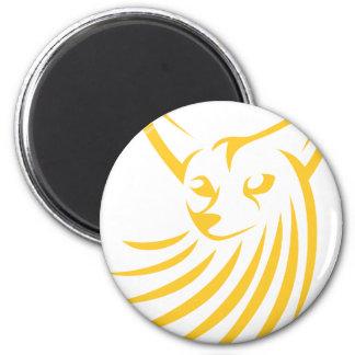 Fennec Fox in Swish Drawing Style Magnet