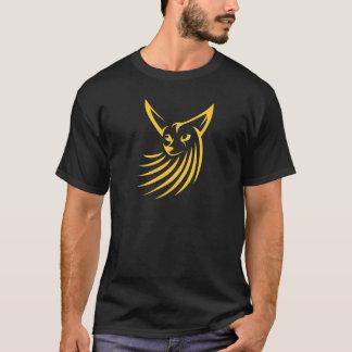 Fennec Fox in Swish Drawing Style T-Shirt