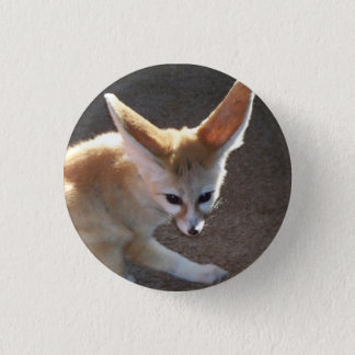 Fennec Fox Pinback Button