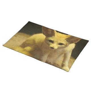 Fennec Fox  Placemat Cloth Place Mat