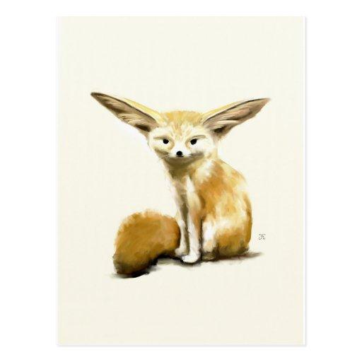 Fennec Fox Post Card