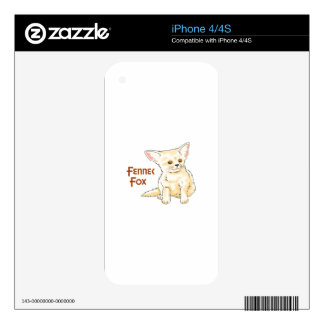 FENNEC FOX DECAL FOR iPhone 4S