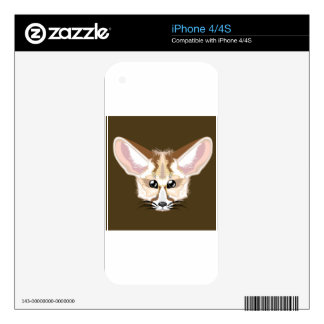 Fennec fox skins for iPhone 4