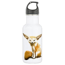Fennec Fox Stainless Steel Water Bottle