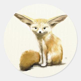 Fennec Fox Stickers