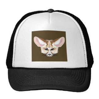 Fennec fox trucker hat