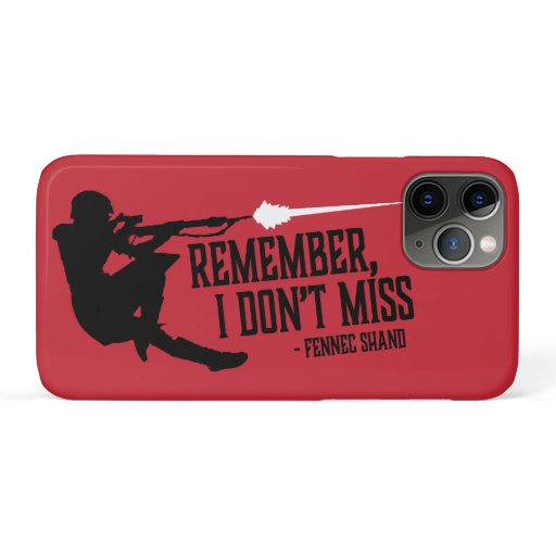 Fennec | Remember I Don't Miss iPhone 11 Pro Case