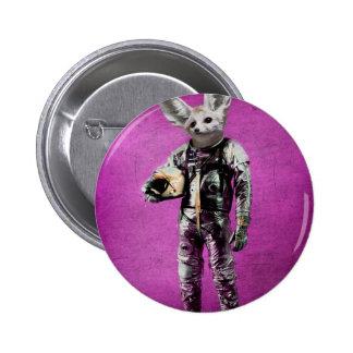 fennec the captain purple pinback button