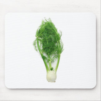 Fennel leaf and bulb mouse pad