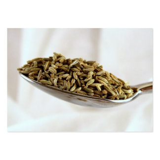 Fennel Seed Business Card