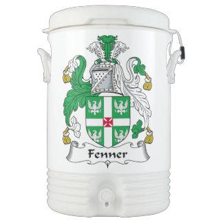 Fenner Family Crest Igloo Beverage Dispenser