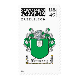 Fennessy Family Crest Postage