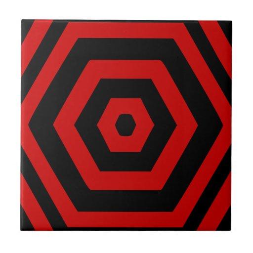 Fenómeno polar hexagonal del vórtice de la teja de