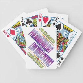 Fenomenología 2 obsesionada baraja cartas de poker