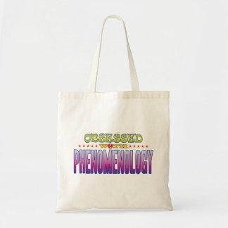 Fenomenología 2 obsesionada bolsa tela barata