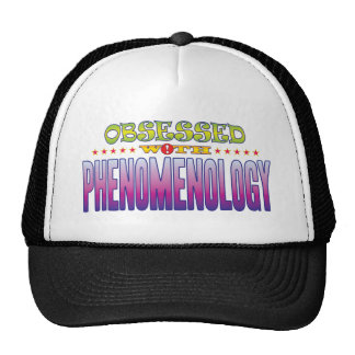 Fenomenología 2 obsesionada gorra