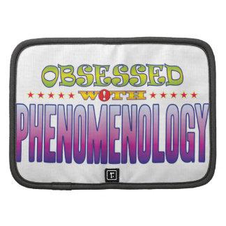 Fenomenología 2 obsesionada organizador