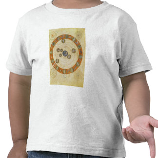 Fenómenos de Aratus diagrama cosmológico Camisetas