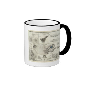 Fenómenos geológicos tazas de café