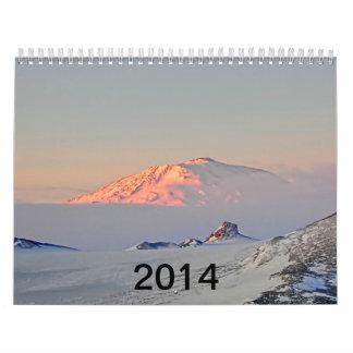 Fenómenos naturales en la Antártida Calendarios De Pared