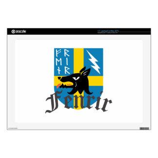 Fenrir Crest Decals For Laptops