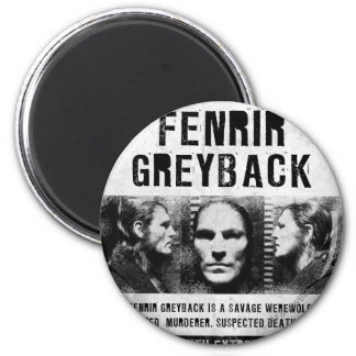 Fenrir Greyback Wanted Poster 2 Inch Round Magnet