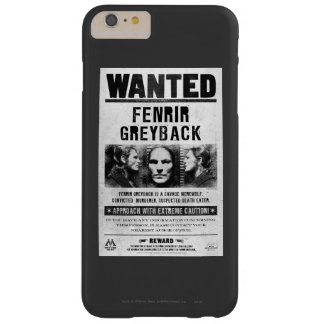 Fenrir Greyback Wanted Poster Barely There iPhone 6 Plus Case