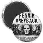 Fenrir Greyback Wanted Poster Fridge Magnets