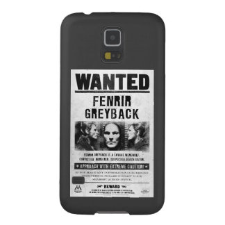 Fenrir Greyback Wanted Poster Galaxy S5 Cover