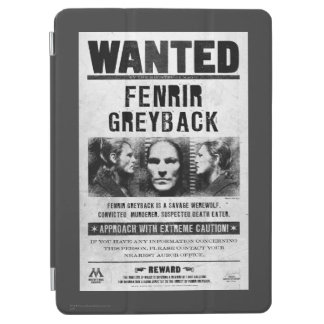 Fenrir Greyback Wanted Poster iPad Air Cover