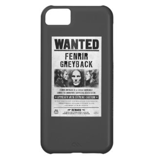 Fenrir Greyback Wanted Poster iPhone 5C Covers